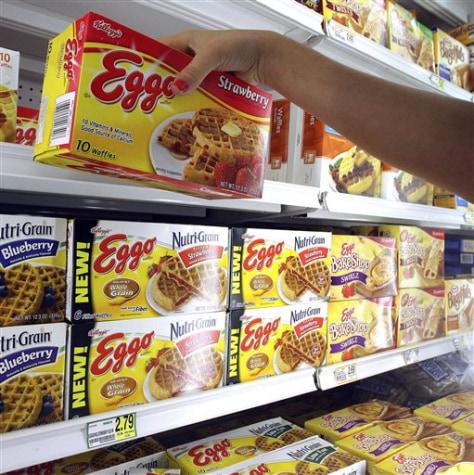 Image: Eggo shortage