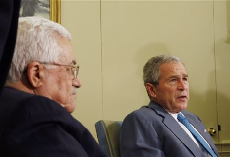 Image: Abbas and Bush
