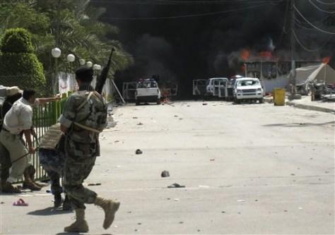 Image: Karbala street scene