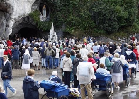 Image: Lourdes grotto