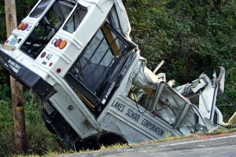 Image: Bus crash