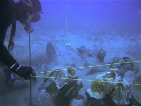 CYPRUS ANCIENT SHIPWRECK