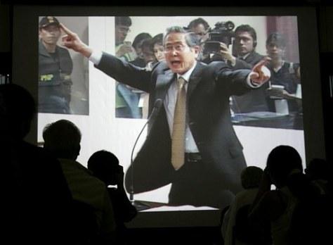 APTOPIX Peru Fujimori Trial