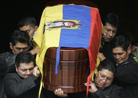 Image: Sucuzhanay funeral
