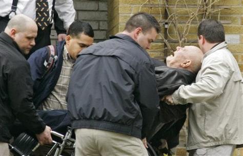 Image: John Demjanjuk being taken from his home