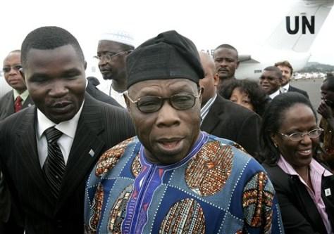Image: Former Nigerian President Olusegun Obasanjo