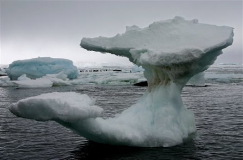 IMAGE: ANTARCTIC ICEBERGS