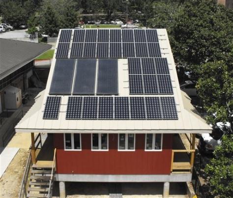 Image: Solar House
