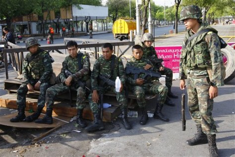 Image: Thai soldiers