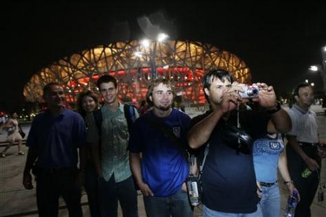 Beijing Olympics Underground Evangelists
