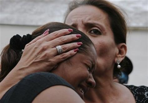Image: Xiomara Castro, right, and Rebecca Murillo
