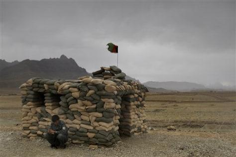 Image: Afghan policeman
