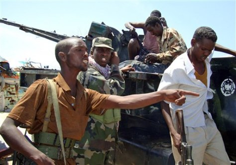 Image: Somali government forces