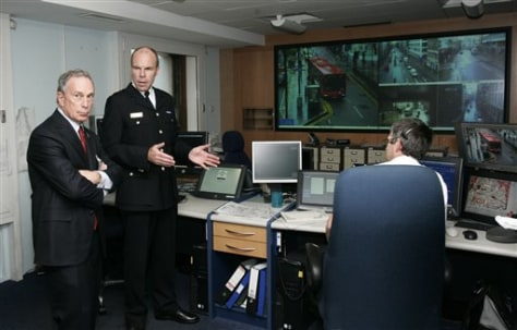 IMAGE: BLOOMBERG AT LONDON POLICE HEADQUARTERS