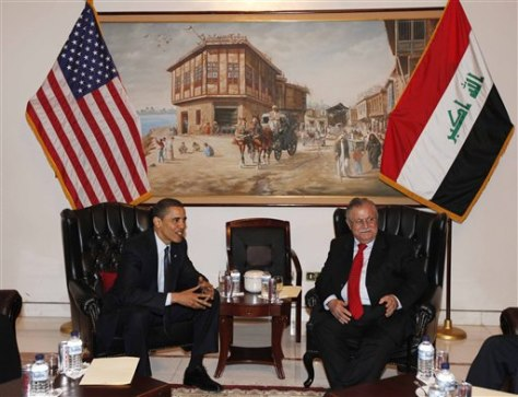 Image: Obama, Talabani
