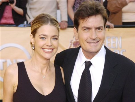 Image: Denise Richards, Charlie Sheen