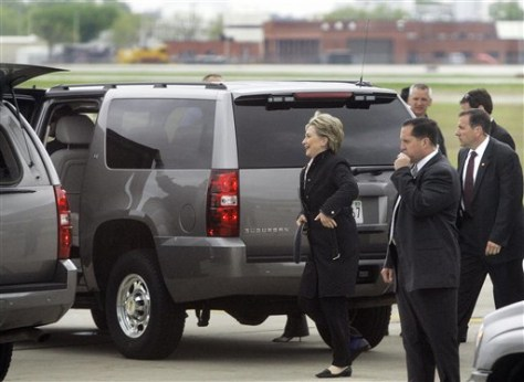 hillary secret service nightmare