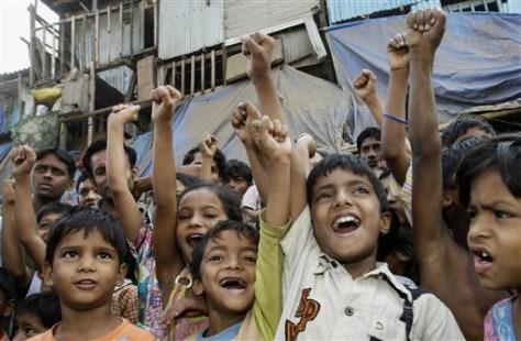 APTOPIX India Slumdog Millionaire