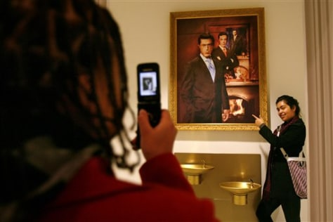 Image: Smithsonian Colbert Portrait