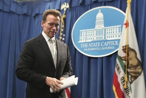 Image: Governor Arnold Schwarzenegger of California.