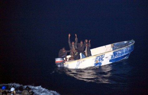 Image: Somali pirates surrender
