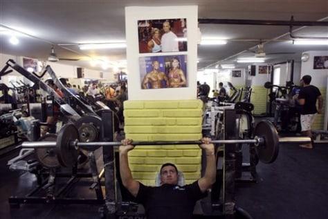 Image: Gym in Baghdad