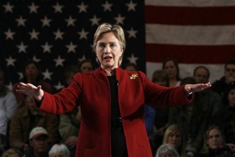 Sen., Hillary Rodham Clinton, D-N.Y.