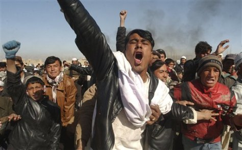 Afghan protest