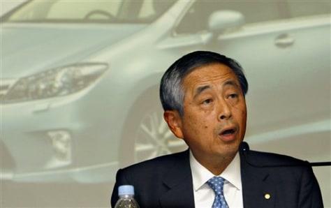 Image: Toyota's Yoichiro Ichimaru
