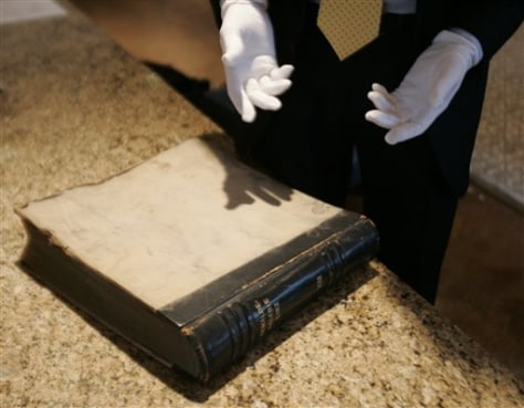 Image: Book taken from Hitler's home