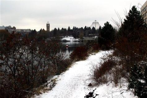 Image: Snowy Spokane