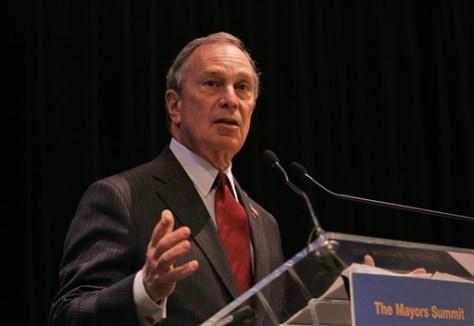 IMAGE:N.Y.C. Mayor Michael Bloomberg