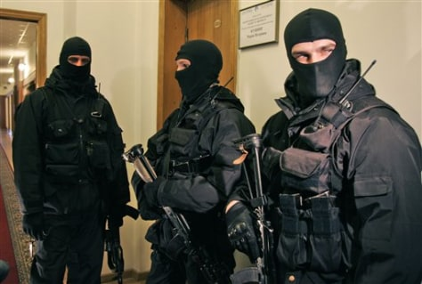 Image: Ukraine state gas firm raided