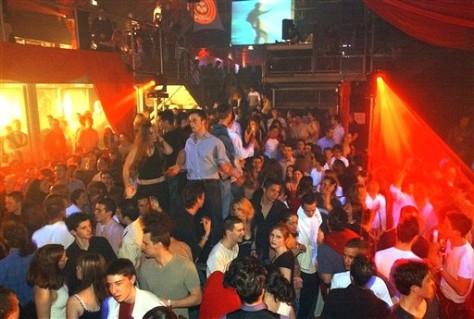 Image: France nightlife