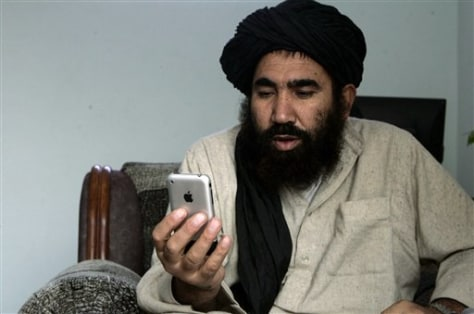 Image: Afghan iPhone Mullah
