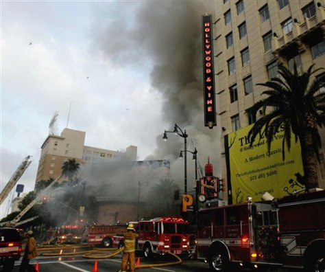 IMAGE: Hollywood Fire