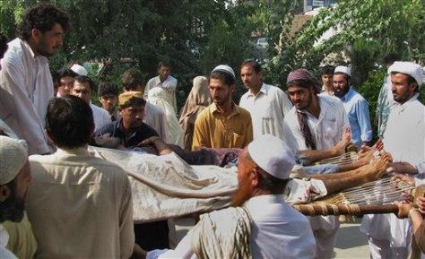 Image: Tribal elders attacked in Pakistan