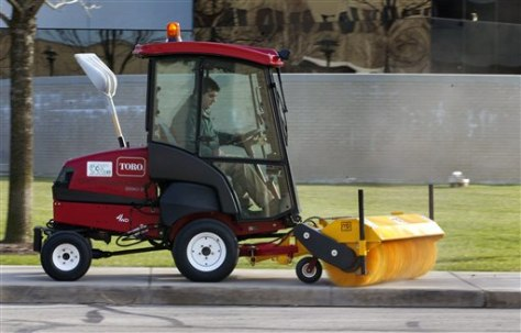 Image: Sweeper that runs on biodiesel
