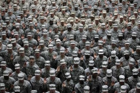 Image: U.S. military service members