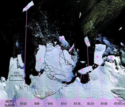 Image: Iceberg off Antarctica