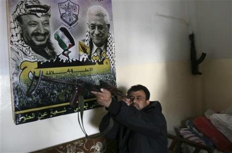 Image: Fatah militant