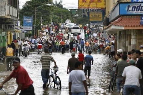 Image: Honduras flood