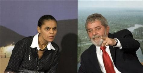 IMAGE: BRAZIL PRESIDENT, MINISTER