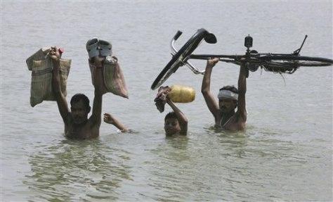 Image: India monsoon flooding