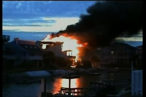 IMAGE: Beach House Fire