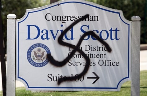 Image: Vandalized sign