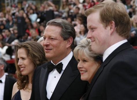 Image: Gore's son