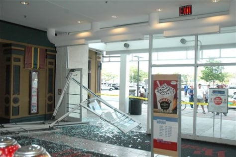 IMAGE: Damage at mall