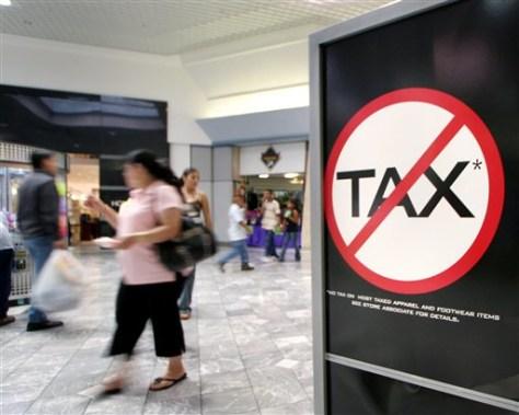 Image: Texas mall