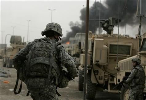 IMAGE: U.S. troops in Iraq